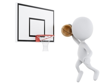 gokken op basketballen