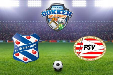 SC Heerenveen – PSV