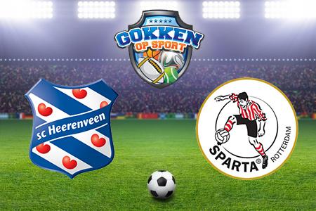 SC Heerenveen - Sparta Rotterdam