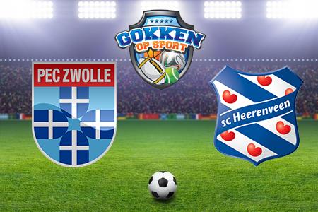 PEC Zwolle – SC Heerenveen