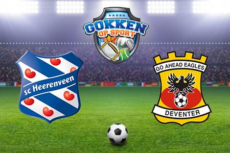 SC Heerenveen - Go Ahead Eagles