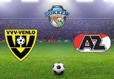 VVV Venlo – AZ voorspelling