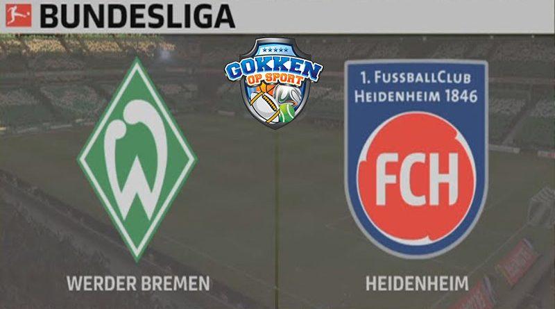 Werder Bremen – Heidenheim voorspelling